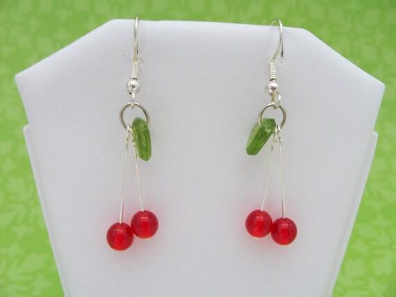 Charming Cherry Earrings