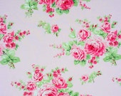 Quilter Fabric - Tanya Whelan - Barefoot Roses - Pink Quilting Fabric