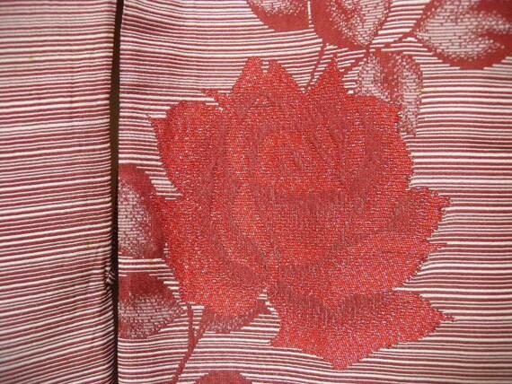 Vintage kimono 1407, roses