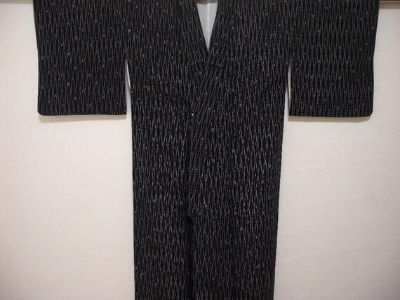 Vintage kimono 1548, indigo color