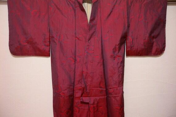 Vintage kimono 1709, roses