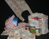 Re-usable Grocery Bagging System Large 13 Tote Bag Set