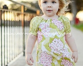 Peasant Dress Spring Garden Available sizes 12 months - 4T Handcrafted by Valeriya
