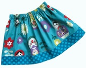 Matryoshka Skirt -ANNA- Available sizes: 2T - 7