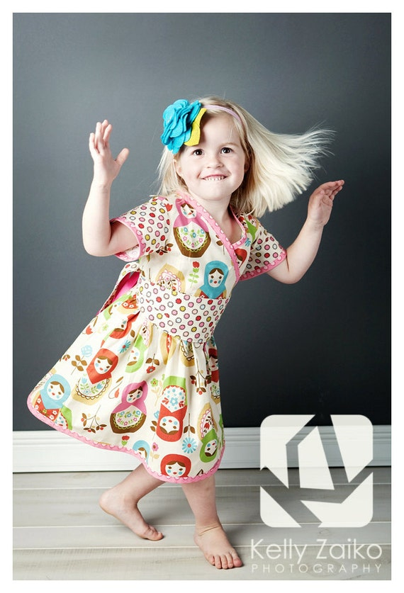AKIRA - Asian inspired dress - Available sizes: 2T - 7