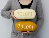 Zoloft PillOW (Cream)