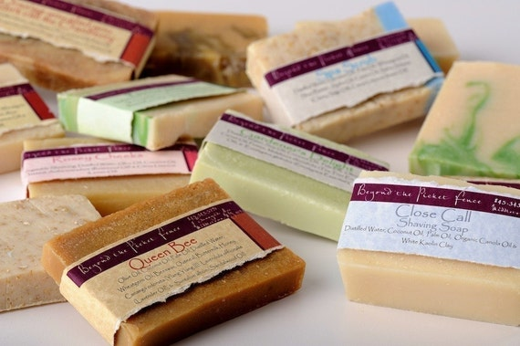 Natural Handmade Soap Special from Beyond the Picket Fence