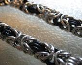 Black Byzantine Bracelet