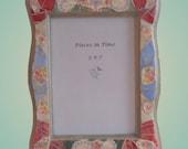 Mosaic Frame Curvy Floral