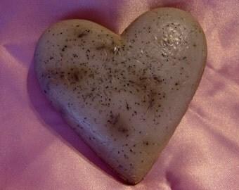 Lavender Chamomile - Heart Shaped Bath Soap