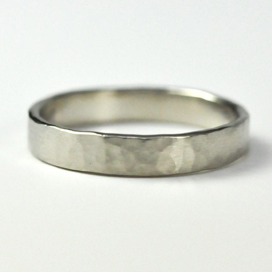 14k palladium white gold 4mm wedding palladium wedding bands zoom