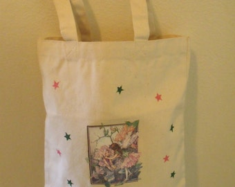2 Pink Fairies Tote Bag