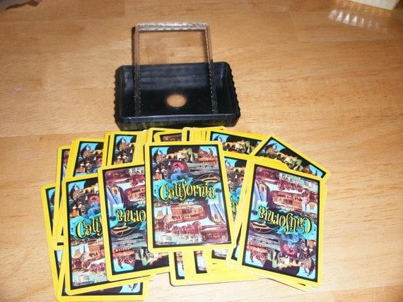 Vintage California Souvenir Playing Cards
