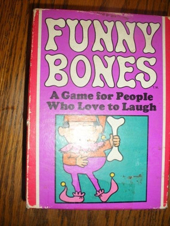 Vintage Game Funny Bones by Parker Brothers