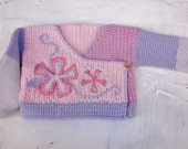 baby girl sweater handmade crochet