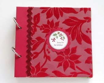 Holiday Mini Album, home for the holidays