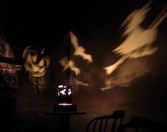 Spinning Lamp Shade - Halloween