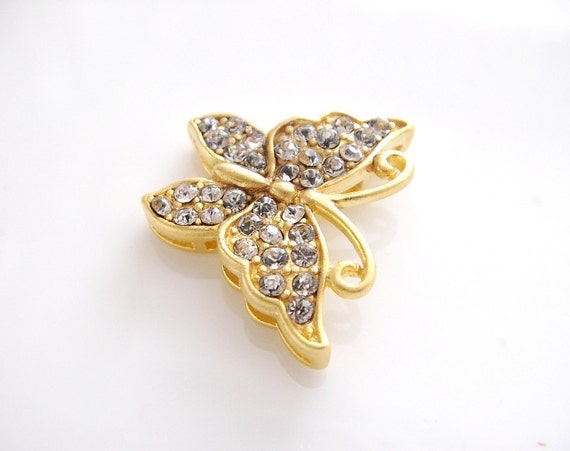 Crystal Butterfly Pendant-1
