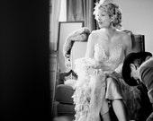 Bridal Boa -Custom Shredded Silk - Gatsby Style