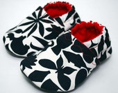 High Contrast Cloth Baby Shoes