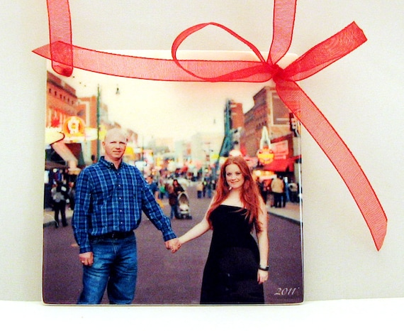 Engagement Announcement Ornament for your Christmas Tree - OOS