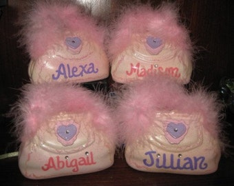 Personalized Party Favor Bling Pink Purse Bank