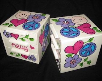 jewelry box bow holder pink and purple kelly bling groovy girl