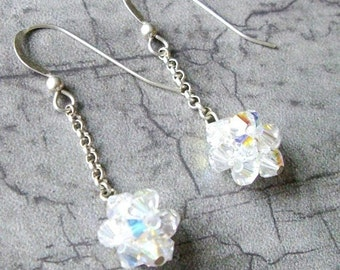 Swarovski Ball n' Chain Earrings