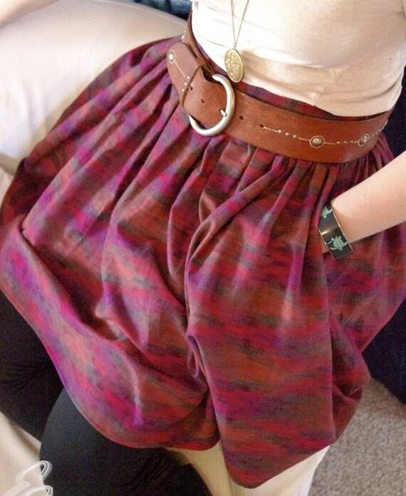Lyndsay Skirt \/\/ Native Red Size M