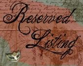 Reserved Listing For Christina (Skinny Ethereal Bracelet - Violet)