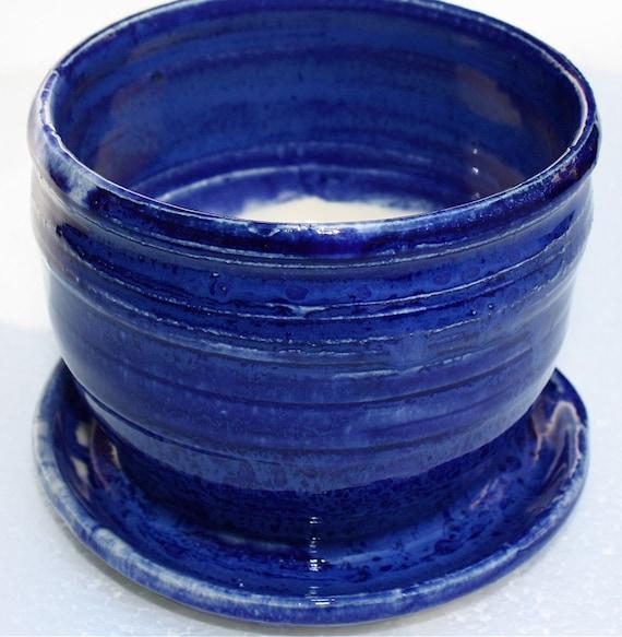 Cobalt Blue Planter