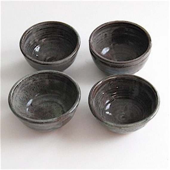 Reserved for tinderdd  Sale Stoneware Bowls Set of Four
