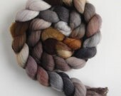 Polwarth/Silk Roving (Top) - Handpainted Spinning or Felting Fiber, Rags and Bone