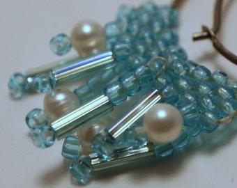 Raining Pearls Earrings (OOAK)