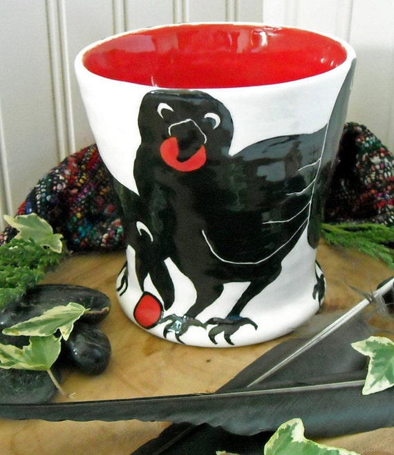 GATHERING TREASURE - FUNtastic Raven Mug
