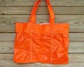 Orange Parachute Slider Briefcase Bag