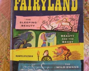 Shirley Temple Fairyland Vintage Book 1958
