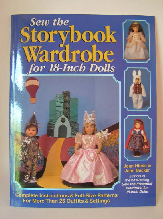 Sew the Storybook Wardrobe for 18 inch Dolls UNUSED Pattern Book