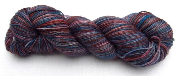 Sock Yarn - Fire Opal - Merilon Sock