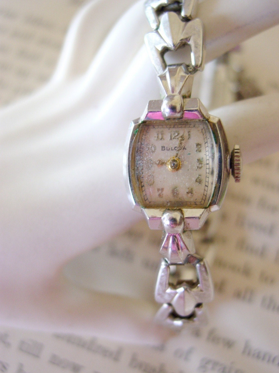 1956 Vintage Bulova Ladies Wrist Watch