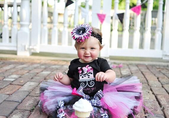 Zebra Tutu and headband Set for baby, infant, toddler girls