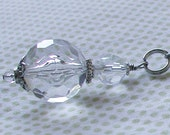 Acrylic & Crystal Faceted Ceiling Fan Pull