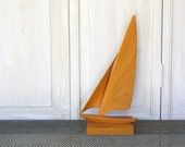 Vintage Mid Century Modern Sailboat