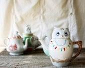 Trio of Small Vintage Teapots