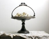 Antique Silverplated Copper Basket