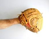 Vintage Baseball Glove - Catcher's Mitt