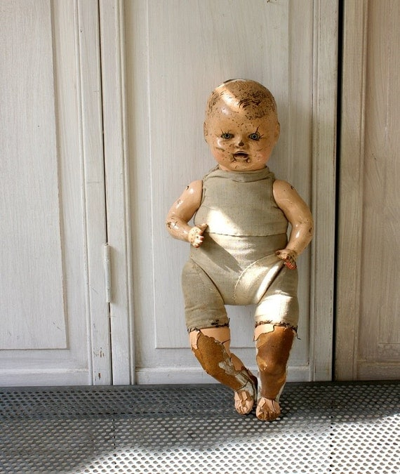 Antique Doll That (Probably) Does Not Want to Kill You
