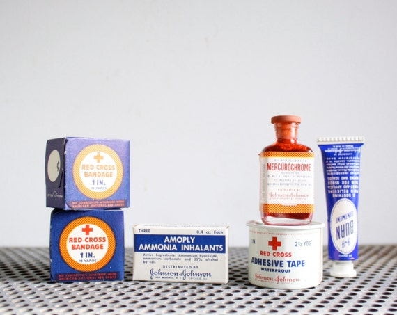 Vintage First Aid Kit - 1950s