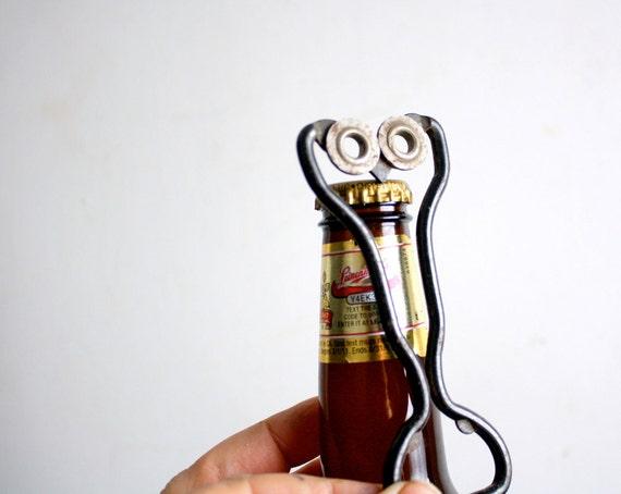 Mid Century Modern Vintage Owl Bottle Opener