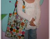 Crayon Caddy Tote-Holds 9 Crayons and Coloring Book-Personalized-You Choose the Fabrics